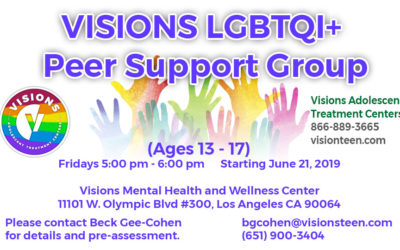 VISIONS LGBTQI+ Peer Support Group